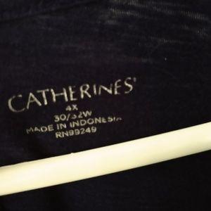 Catherine's navy top